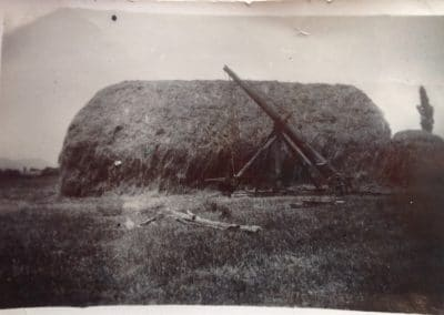 How hay used to be stacked