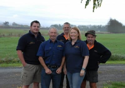 We are Proud to be Qualified Contractors, each of us has attained the National Certificate in Agricultural Contracting (Level 3)(Photo Credit Caron Stewart)